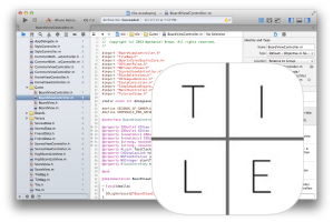 TILE in xcode